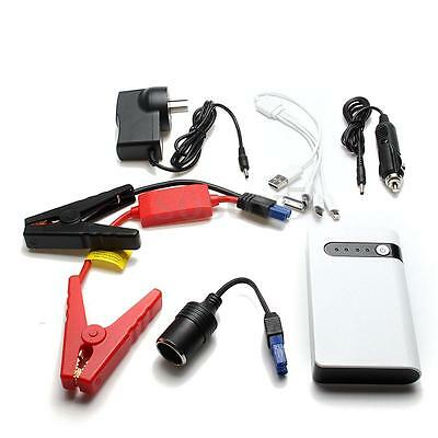Portable 20000mAh Jump Starter Car Battery Charger Mini Power Bank LED Light 12V
