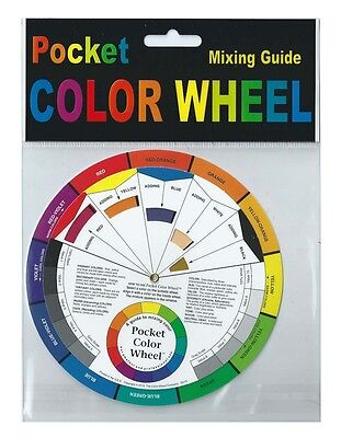 Artists' Pocket Colour Wheel - Colour Mixing Guide