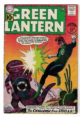 DC Comics GREEN LANTERN 5700 AD 8 VG+ superman batman Sinestro