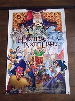 Hunchback of Notre Dame, Original DS Movie Poster, Walt Disney, '96