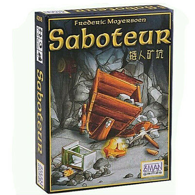 Funny Family Board Game Gift - Saboteur Card Game New Sealed