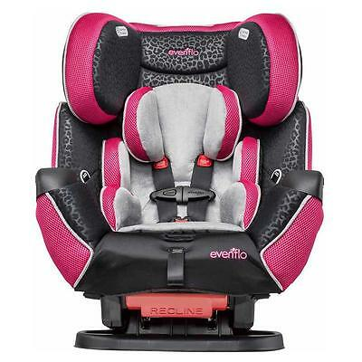 NEW Evenflo Symphony Lx All One Convertible CarSeat Platinum Delmar Crete Kronus