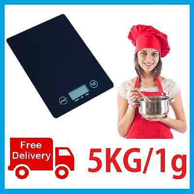 5kg/1g Electronic Digital Kitchen Scale Postal Scales Brand New Postage Free!
