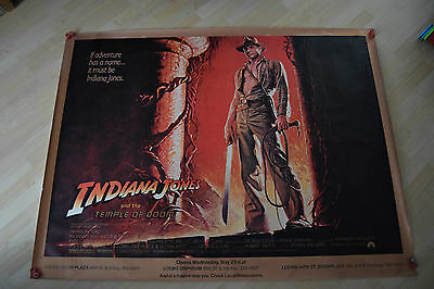 Indiana Jones & the Temple of Doom, Huge Subway Poster, Harrison Ford, '84