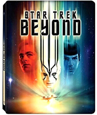 Star Trek Beyond - Steelbook Edition (Blu-Ray) Edizione Limitata, Chris Pine