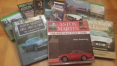 Aston Martin Book Collection, 10 books - RARE OPPORTUNITY, PRICED TO SELL