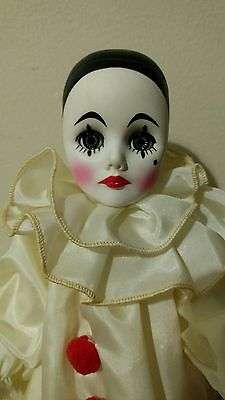 Vintage Effanbee Story Book Playsize Collector's Pierrot Clown Mime Doll