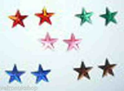 New Stud Fixing Crystal Star Earrings