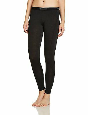 Super Natural Wo Base Tight Damen Funktionsunterwäsche Hose schwarz