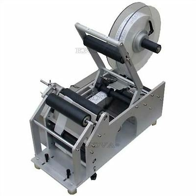 Labeling Machine Bottle Labeler Semi-Automatic Brand New Lt-50 Industry Round Q