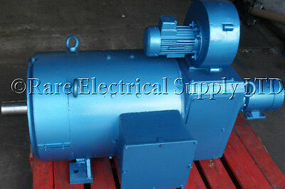 NEW GEC 20kW Force Vented DC Electric Motor 1000-RPM 6-Pole Tacho Force Vent