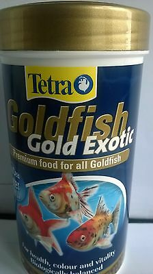 TETRA GOLD EXOTIC GOLDFISH FISH FOOD 80g 4004218753129