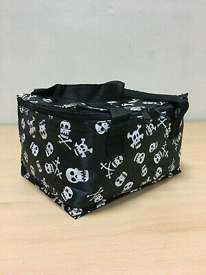 Skulls And Crossbones Lunch Picnic Cool Bag School Lunches Box Bags Skull Bag