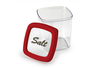 Snips Salt Storage - 1L - Airtight Seal Salt Container Box - Made in Italy