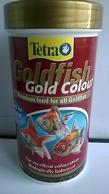 TETRA GOLD COLOUR GOLDFISH FISH FOOD 75g 4004218753136