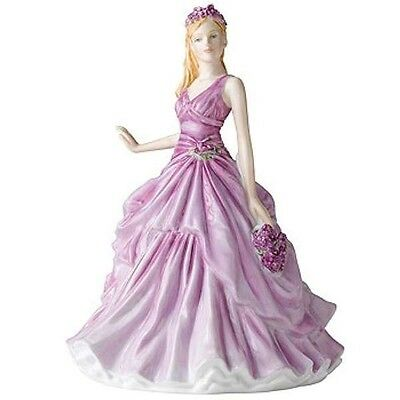 Royal Doulton Flower of the Month February Figurine DISCONTINUED