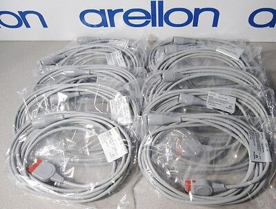 10 NEW Hospira Abbott Transpac IV Transducer Monitor Cables 42661-36 15' cord 4