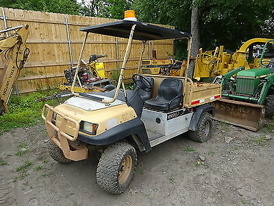 Club Car Pioneer 1200 Gas Utility Vehicle NICE! RUNS & WORKS XRT Kawasaki