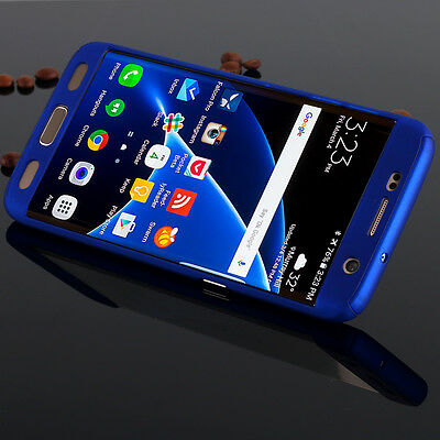 For Samsung GALAXY S7 / S8 Hybrid ShockProof Protective Hard Case Cover