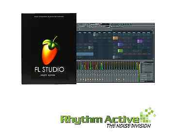 Fl Studio 12 Fruity Loops Edition Music Software/retail/ Windows License 7/8/10