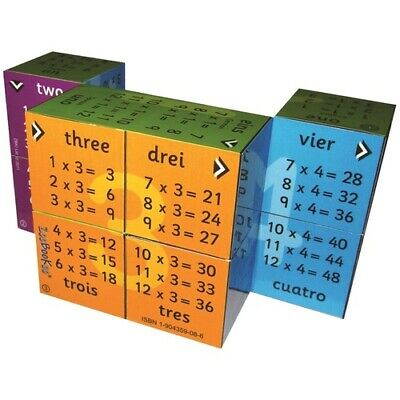 ZOOBOOKOO Learn TIMES TABLES MULTIPLICATION Educational KIDS CUBE BOOK Maths