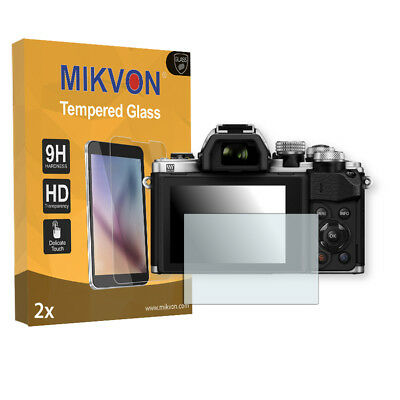 2x Mikvon Tempered Glass 9H for Olympus OM-D E-M10 Mark II Screen Protector