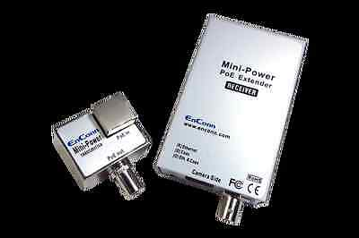 PoE extender over coax solutions for remote IP surveillance