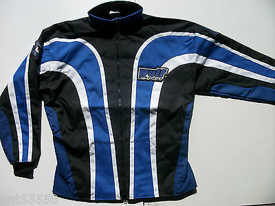 WULFSPORT CORDURA Sz Large ENDURO TRIALS MOTOCROSS JACKET WR YZ YZF BETA 4RT WRF