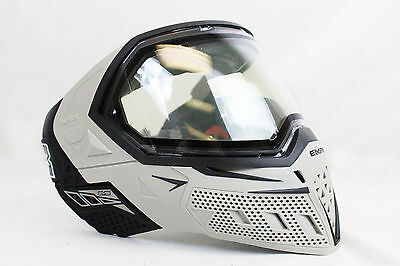 Empire EVS Paintball Mask Goggle - Grey / Black - New