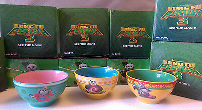 Kung Fu Panda 3 Movie Limited Edition Noodle/Cereal Bowl - Po Mei Li or sets