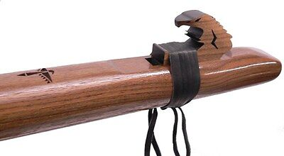 High Spirits Native American Style Flute Walnut LOW Bass D, FREE DVD Pro Quality