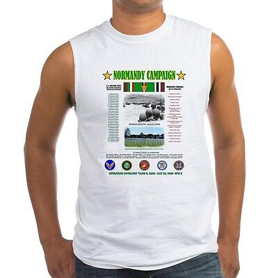 "Normandy Battle  Ww Ii "" Operation Overlord 1944 "" Sleeveless / Tank Top Shirt"