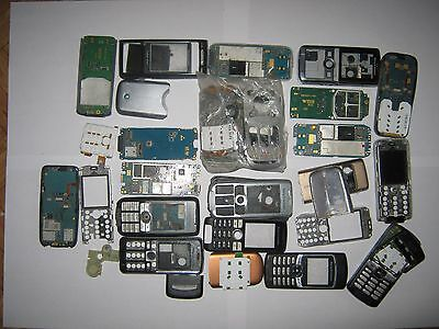 Lot of Mobile Cellular Phones Sony Ericsson Different models. Only For Parts.