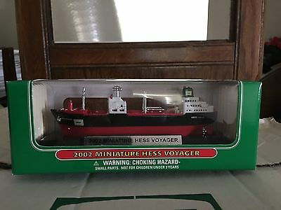 1 2002 Hess Miniature Voyager Ship 5Th In A Series Fresh From Case Mib