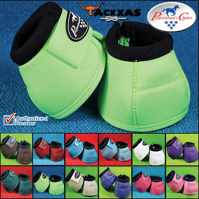 Professional Choice No-Turn Overreach Ballistic Bell Boots Horse All Color Sizes