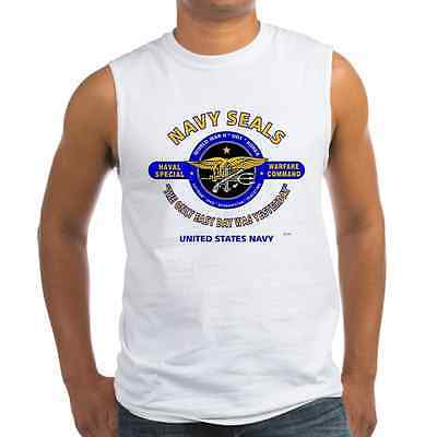 "Navy Seals ""The Only Easy Day Was Yesterday"" * Sleeveless / Tank Top Shirt"