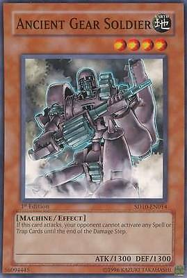Yu-Gi-Oh! YuGiOh Ancient Gear Soldier - SD10-EN014 - Common 1st Edition Deck: