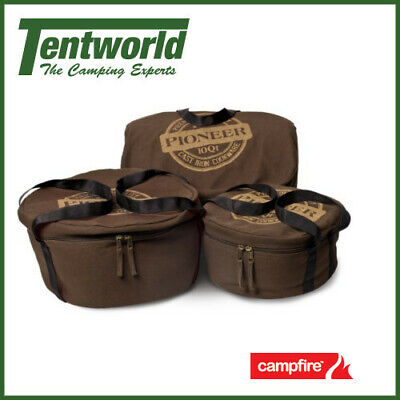 Campfire Pioneer Canvas Camp Oven Bag - 9 Quart