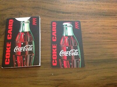Coca Cola 1999 Coke Card With Holder And Coupons
