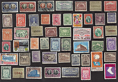 50 Diff Guatemala Stamps
