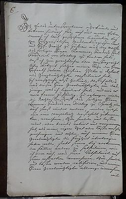 Germany Saxony 1764 document with red seal