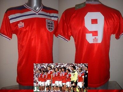 England 1982 Hoddle Retro Shirt Jersey BNWT M L Football Trikot World Cup Away