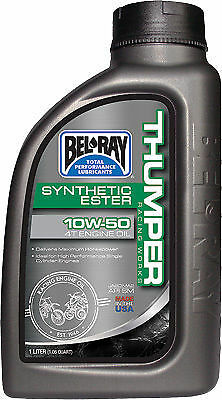 Bel Ray High Performance Thumper 10w50 4T Engine Oil Synthetic Ester 1L KTM etc-