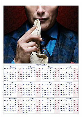 Hannibal TV Series - 2017 A4 CALENDAR **BUY ANY 1 AND GET 1 FREE OFFER**