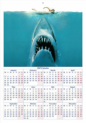 Jaws - 2017 A4 CALENDAR **BUY ANY 1 AND GET 1 FREE OFFER**