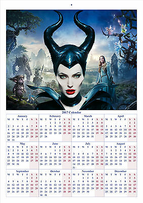 Maleficent - 2017 A4 CALENDAR **BUY ANY 1 AND GET 1 FREE OFFER**