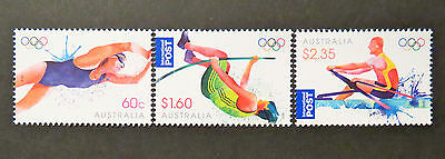 Australian Decimal Stamps: 2012 London Olympic Games - Set of 3 Singles MNH