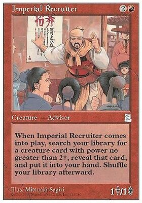 Imperial Recruiter MTG MAGIC P3K English