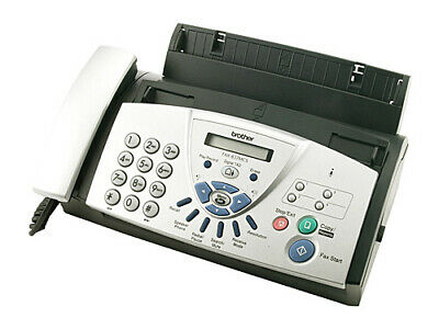 Brother FAX-837MCS Thermal Transfer Fax Machine +Handset+Digital Answer Machine