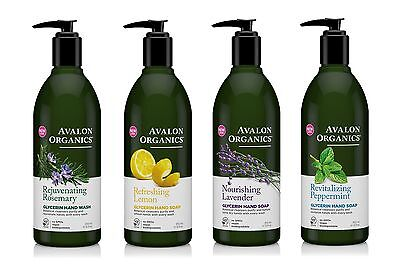 Avalon Organics Glycerin Moisturising Cleansing Hand Soap 355ml